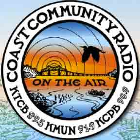 Coast community radio KMUN logo