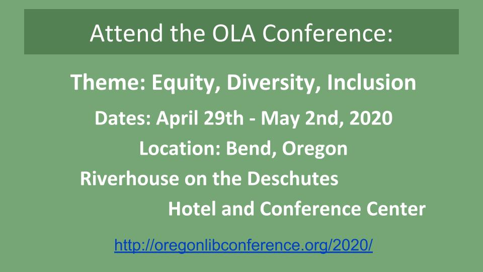 OLA Conference 2020