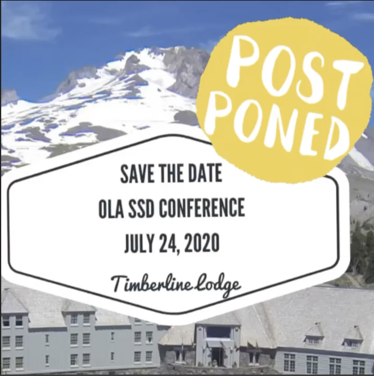SSD Conference 2020, July 24, 2020, Timberline Lodge